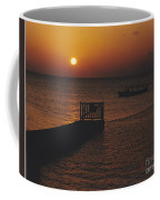 Sunset Boat Coffee Mug