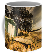 Sunset Boat Shed Coffee Mug