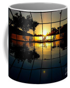 Sunset By The Pool Coffee Mug