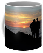 Sunset California Coast Coffee Mug