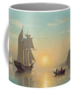 Sunset Calm In The Bay Of Fundy Coffee Mug by William Bradford