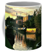 Sunset Canal Reflections Coffee Mug