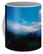 Sunset Cathedral Rock Sedona Arizona Coffee Mug
