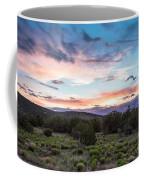 Sunset Cerillos Coffee Mug