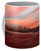 Sunset City Coffee Mug