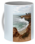 Sunset Cliffs With Bird Rock Coffee Mug