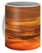 Sunset Clouds On Fire Coffee Mug