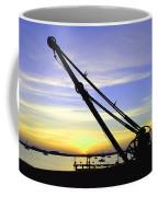 Sunset Crane Coffee Mug