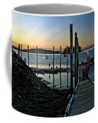 Sunset Dock Coffee Mug