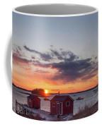 Sunset Down East Maine  Coffee Mug
