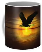 Sunset Eagle Coffee Mug