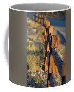 Sunset Fence Coffee Mug