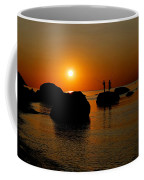Sunset Fishing Coffee Mug