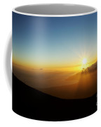 Sunset From Haleakala Crater Coffee Mug