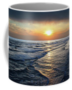 Sunset From Newport Beach Pier Coffee Mug