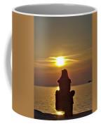 Sunset Girl Coffee Mug