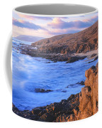 Sunset Glow Along Pacific Coast Coffee Mug