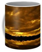 Sunset Gold Coffee Mug