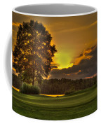 Sunset Hole In One The Landing Coffee Mug