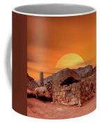 Sunset House Coffee Mug