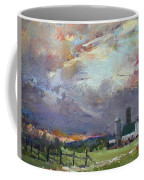 Sunset In A Troubled Weather Coffee Mug