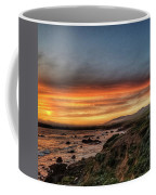 Sunset In Cambria Coffee Mug