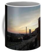 Sunset In Cleveland Coffee Mug