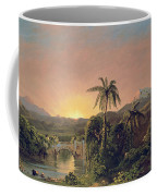 Sunset In Equador Coffee Mug