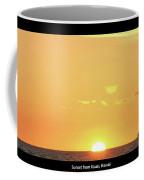 Sunset In Kauai Coffee Mug