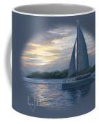Sunset In Key West Coffee Mug by Lucie Bilodeau