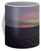Sunset In Long Beach California  Coffee Mug