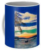 Sunset In Manuel Antonio  Coffee Mug