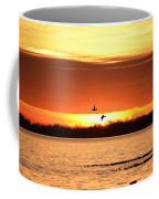 Sunset In Orange Coffee Mug