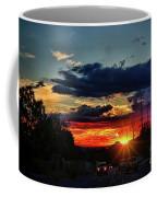 Sunset In Santa Fe Coffee Mug