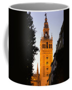 Sunset In Seville - A View Of The Giralda Coffee Mug