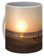 Sunset In Summertime On Beaches Coffee Mug