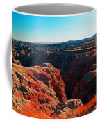 Sunset In The Badlands Coffee Mug