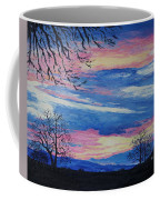 Sunset In The Country Coffee Mug