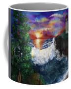 Sunset In The Cove Coffee Mug