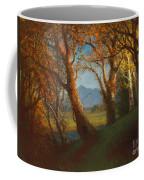 Sunset In The Nebraska Territory Coffee Mug by Albert Bierstadt
