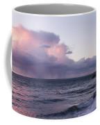 Sunset In The Ocean Coffee Mug