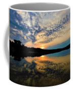 Sunset In The Pinelands  Coffee Mug