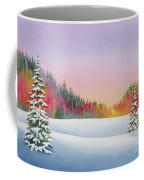 Sunset In The Pines Coffee Mug