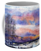 Sunset In The Rockies Coffee Mug