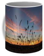 Sunset In The Weeds Coffee Mug