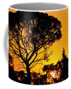 Sunset In Tujunga Coffee Mug