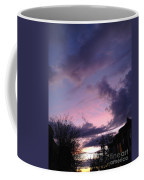 Sunset In Winter Skies  Coffee Mug