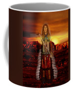 Sunset Indian Chief Coffee Mug