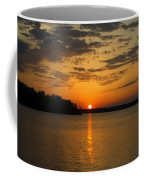 Sunset Lake Pat Mayse From Sanders Cove Coffee Mug