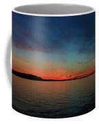 Sunset Lake Superior Coffee Mug